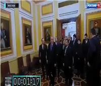 ما فعله بوتين في أردوغان| الإذلال على الطريقة الروسية.. دقيقتان تحت صورة «سوفوروف»