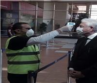 محافظ جنوب سيناء يتفقد الإجراءات الاحترازية للحد من انتشار فيروس كورونا