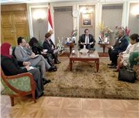 وزير التعليم العالي يستقبل سفير غينيا الاستوائية بالقاهرة