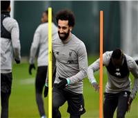 شاهد| محمد صلاح في تدريبات ليفربول استعدادا لمواجهة أتلتيكو مدريد