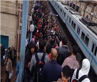 بالفيديو .. وقف حركة القطارات من المرج الجديدة حتى الشهداء لسوء الأحوال الجوية