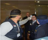 صور| وزير الطيران يتابع تطبيق الإجراءات الوقائية بمطار القاهرة