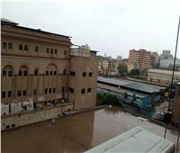 صور  بعد هدنة 4 ساعات.. أمطار متوسطة على القاهرة صباح الجمعة