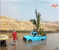 فيديو| نرصد تأثير الأمطار على الطريق الدائري