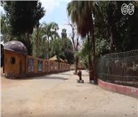 فيديو| اجراءات وقائية مشددة داخل حديقة الحيوان بعد غلقها لمواجهة «كورنا»