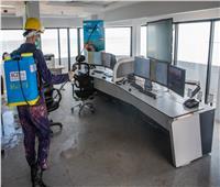 صور| اقتصادية قناة السويس: استكمال أعمال التطهير والتعقيم بميناء السخنة والأدبية