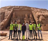 السياحة: تبدأ تعقيم وتطهير المناطق الأثرية في صعيد مصر