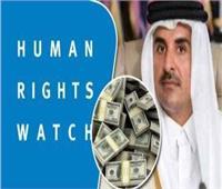 السوشيال ميديا يفضح «هيومن رايتس» وعلاقتها بقطر والإخوان في مصر