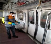 استمرار تعقيم مترو الأنفاق ضد انتشار «كورونا»