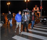 جولة لمحافظ الإسكندرية لمتابعة الالتزام بحظر التجوال