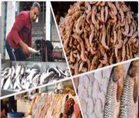 استقرار أسعار الأسماك في سوق العبور 28 مارس