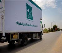 «مصر الخير» توزع كراتين أغذية ومواد طبية على ألف سيدة معيلة