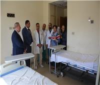 محافظ الدقهلية: مكافأة ماليةلأعضاء الكادر الطبي بمستشفى العزل بتمي الأمديد