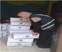 مصر الخير توزع 1000 كرتونة للسلع الغذائية بأسوان