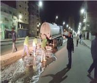 رئيسمدينة دمنهور يقود حملةلنظافة وتعقيم شوارع العاصمة| صور