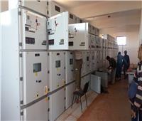 رئيس الجهاز: جارٍ تنفيذ أعمال شبكة الكهرباء المغذية لقطع الأراضى المميزة بمدينة السادات