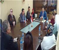 نائب محافظ القاهرة يجتمع مع مديري التضامن والقوى العاملة لمناقشة أزمة العمالة غير المنتظمة