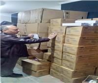 ضبط 18 ألف ماسك طبي داخل مخزن غير مرخص بالإسكندرية