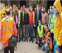 أمين التعليم بمستقبل وطن يقود أكبر حملة لتعقيم شوارع القاهرة