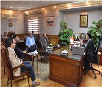 وزير الشباب يبحث مع البيطار وبطيشة تطوير إذاعة شباب مصر