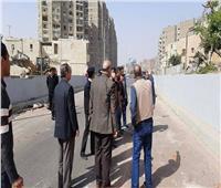 نائب محافظ القاهرة يتابع إزالة الأكشاك العشوائية بمحور رمسيس مصر الجديدة