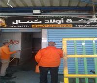 محافظ القاهرة: تطهير سوق العبور على مدار 24 ساعة لمواجهة كورونا