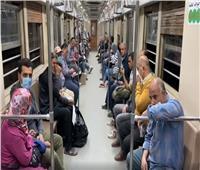 بعد مشادة الإبراشي.. «النقل» تنشر لقطات ترصد حال المترو قبل الحظر