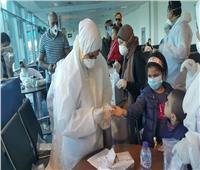 العائدون من الخارج يشيدون بإجراءات الحجر بمطار القاهرة: «فخورون بتحريك الأسطول لعودتنا»