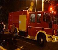 السيطرة على حريق سيارة داخل محطة بنزين بالمقطم