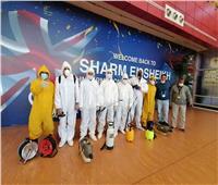 صور| المصرية للمطارات تستغل توقف حركة الطيران بصيانة ورفع كفاءة مطار شرم الشيخ