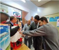 جمعية رعاية الطلاب بالغربية تتبرع بـ11 ماكينة تطهير
