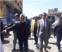 فض سوق البردويل بالعامرية وتطهير المخلفاتبالإسكندرية