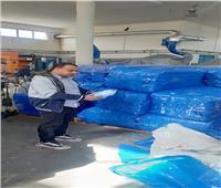 ضبط مصنع كمامات غير مرخص بالإسكندرية