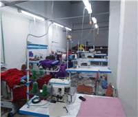 الرقابة الإدارية تضبط مخزنا للكمامات والمستلزمات الطبية بشقة في الإسكندرية