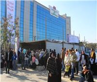 خدمات طبية متنوعة للإعلاميين بمستشفى سعاد كفافي الجامعي