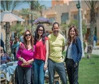 """بالصور.. انتهاء هبة عبد الغني من تصوير """"سنين وعدت"""" بمسلسل """"إلا أنا"""""""