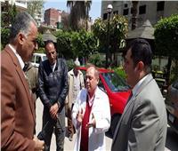 نائب محافظ القاهرة يتابع الخدمات التعليمية والصحية والغذائية بحي شبرا