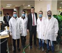 صور| جامعة سيناء تشارك في حملة التعقيم والتطهير ضد فيروس كورونا