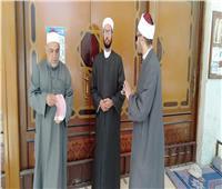 صور  مدير أوقاف البحر الأحمر يتابع غلق المساجد وتعليق الجمعة