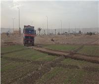 «سوهاج الجديدة» تسترد قطعة أرض بعد التعدى عليها للمرة الثانية