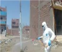 فيديو| حملات تطهير بقرى ومراكز القليوبية للوقاية من كورونا