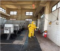 «مياه القليوبية»: تعقيم كافة مواقع العمل بالمواد المطهرة لمقاومة كورونا