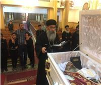 وفاة القمص بنيامين فؤاد كاهن كنيسة العذراء والمجدلية بشبرا الخيمة
