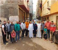 بالصور| مبادرة «شباب فيصل» لدعم الأسر الفقيرة والعمالة الغير منتظمة