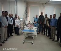 افتتاح وحدة الغسيل الكلوي بمستشفي نخل بوسط سيناء