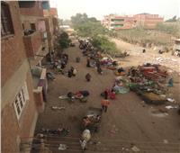 أمسك مخالفة| زحام المواطنين في سوق هورين ببركة السبع