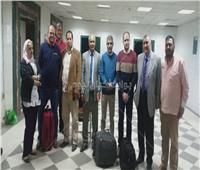 وصول الأطباء المتطوعين لمستشفى «كفر الزيات» لاستقبال حالات الإصابة بكورونا