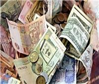 تباين أسعار العملات العربية والدينار الكويتي يتراجع ل 49.96 جنيها