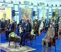 الرئيس السيسي: سنعبر تحدي أزمة كورونا وستنجو مصر وشعبها من آثاره