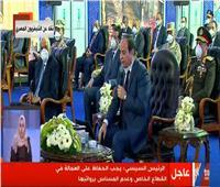 الرئيس السيسي: على القطاع الخاص عدم المساس بمرتبات العمال